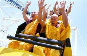 Monk Coaster
