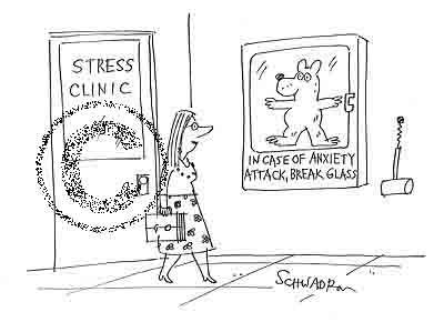 In case of anxiety, break glass